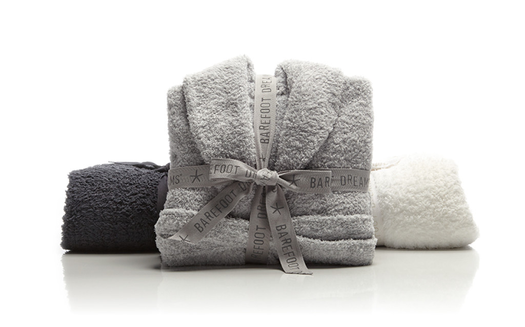 BAREFOOT DREAMS COZY CHIC ROBE. 3 COLOR OPTIONS