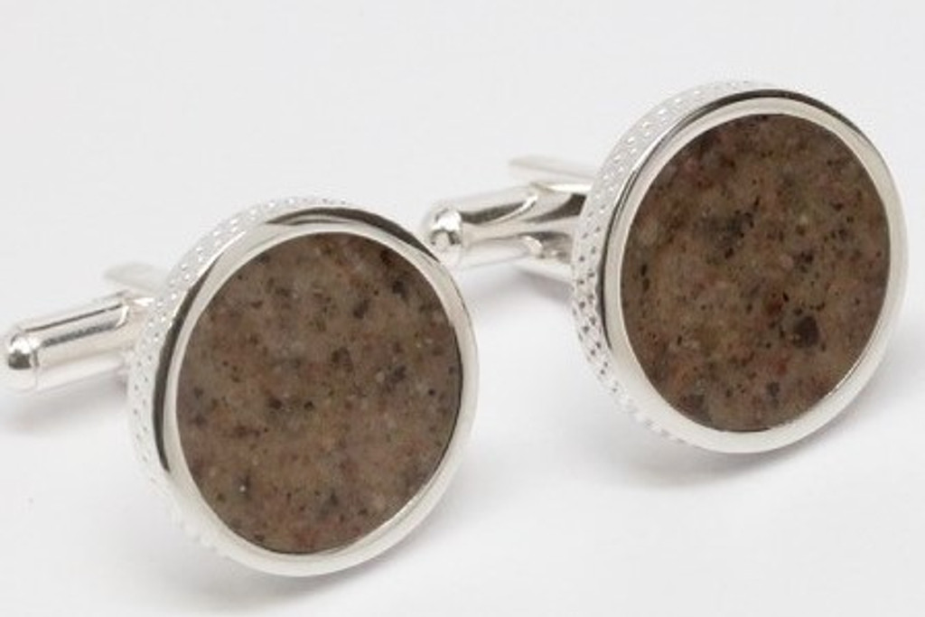 WHISTLING STRAITS DIMPLED CUFFLINKS