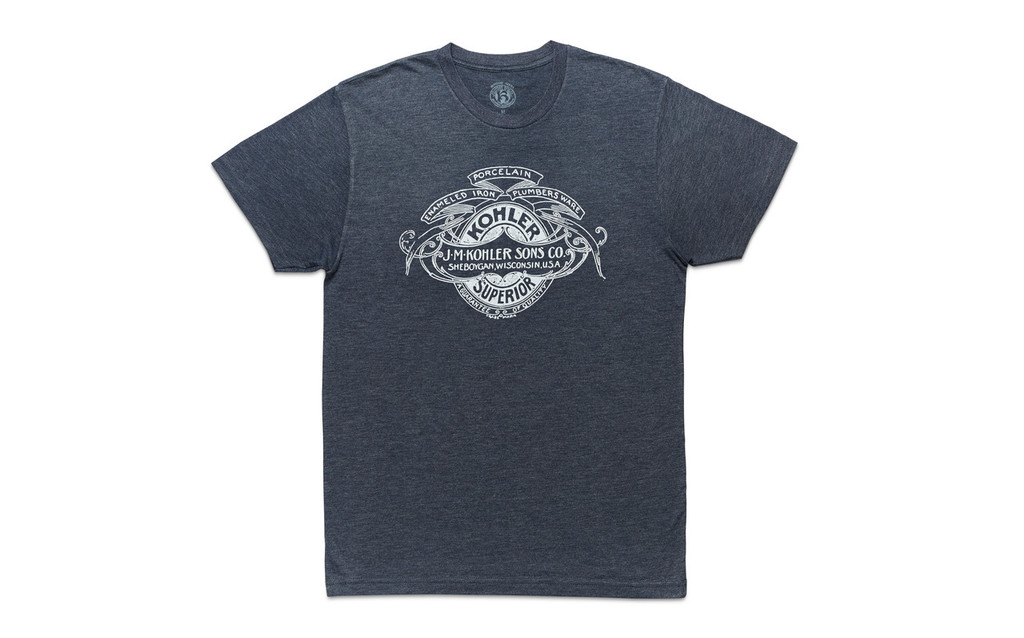 MEN'S J.M. KOHLER SONS CO. T-SHIRT. 2 COLOR OPTIONS.