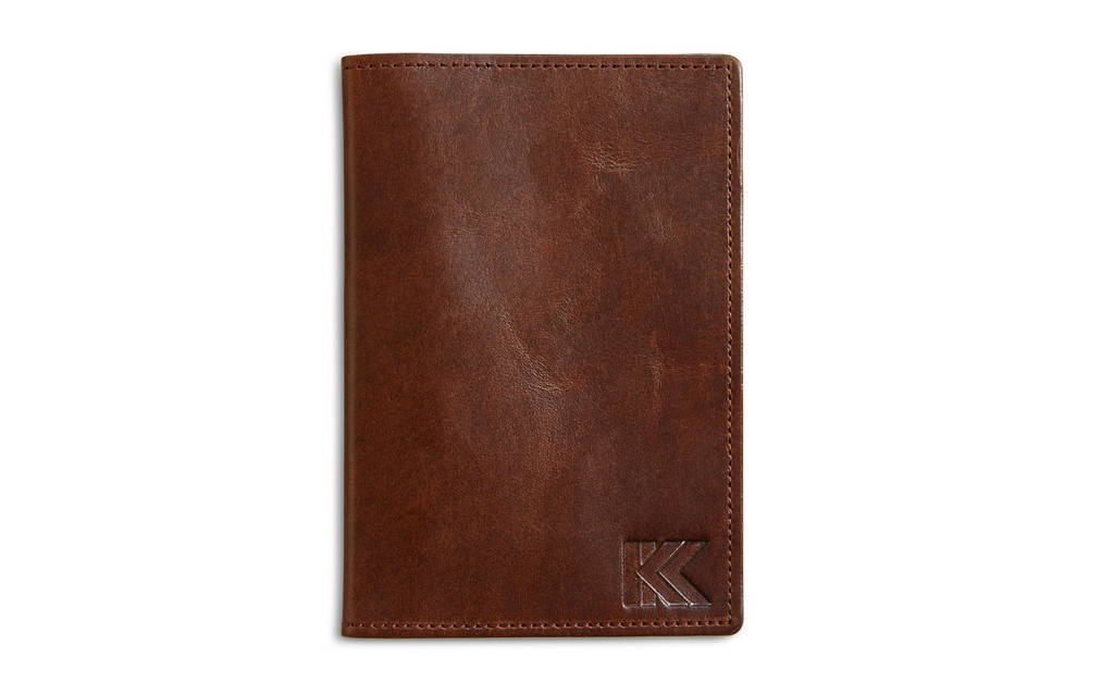 KOHLER OF KOHLER LEATHER PASSPORT HOLDER