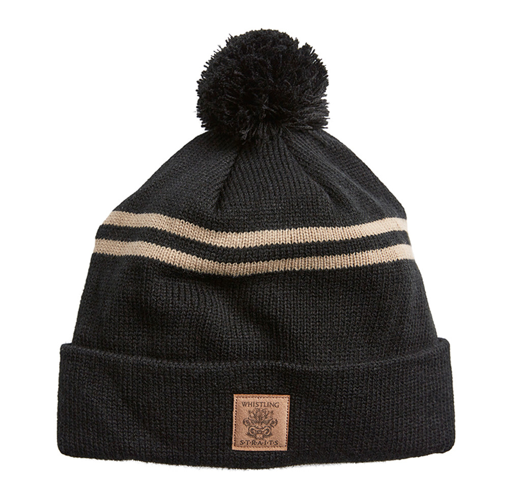 WINTER HAT.  WHISTLING STRAITS LOGO EXCLUSIVELY.  5 COLOR OPTIONS.