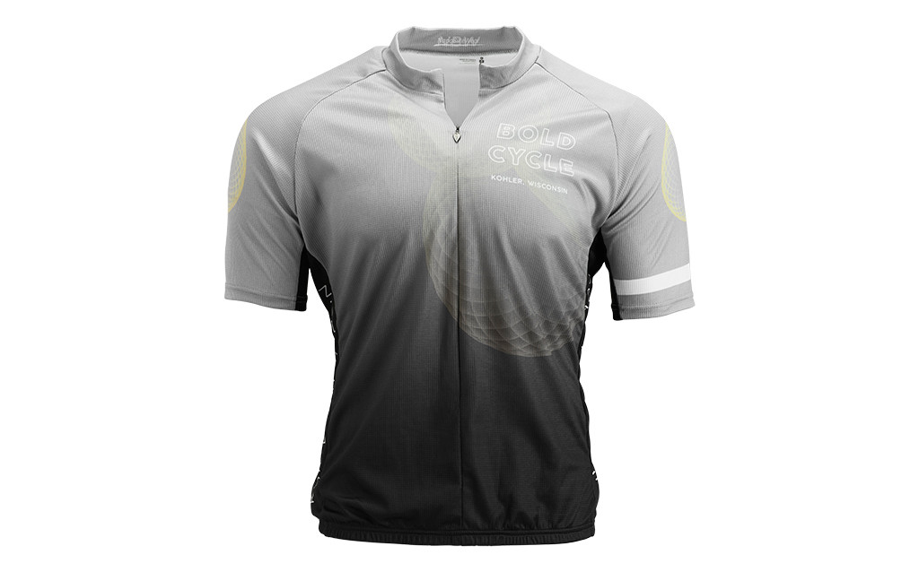 HYPERDRI 3 MEN'S PRO-FIT JERSEY.  BOLD CYCLE LOGO EXCLUSIVE
