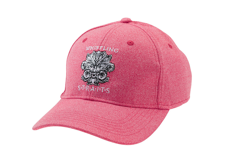 MEN'S AHEAD HEATHERED HATS. WHISTLING STRAITS LOGO EXCLUSIVELY.  5 COLOR OPTIONS.