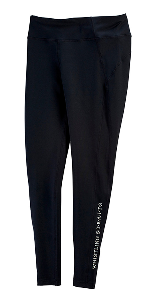 WOMEN'S LEVELWEAR VERVE PRISM LEGGING. WHISTLING STRAITS® LOGO EXCLUSIVELY.