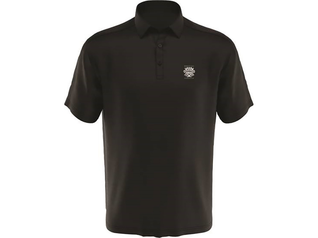 MEN'S CALLAWAY MICRO HEX SOLID POLO. WHISTLING STRAITS LOGO EXCLUSIVELY. 2 COLOR OPTIONS.