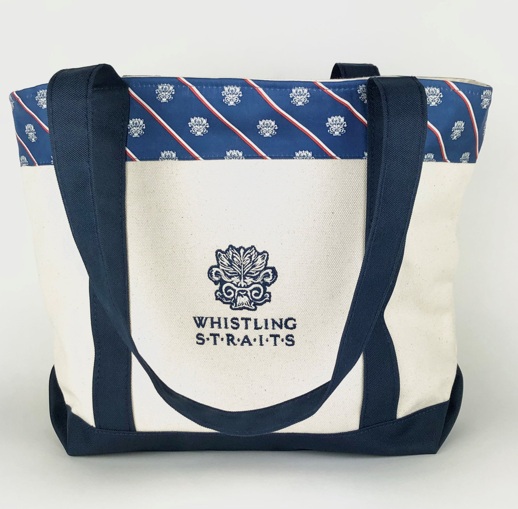 VINEYARD VINES® CLASSIC TOTE WITH WHISTING STRAITS® LOGO EXCLUSIVELY.
