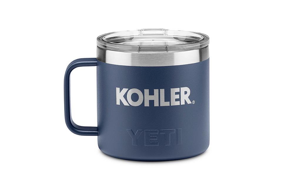 YETI® 14 OZ RAMBLER® MUG. 2 COLOR OPTIONS.