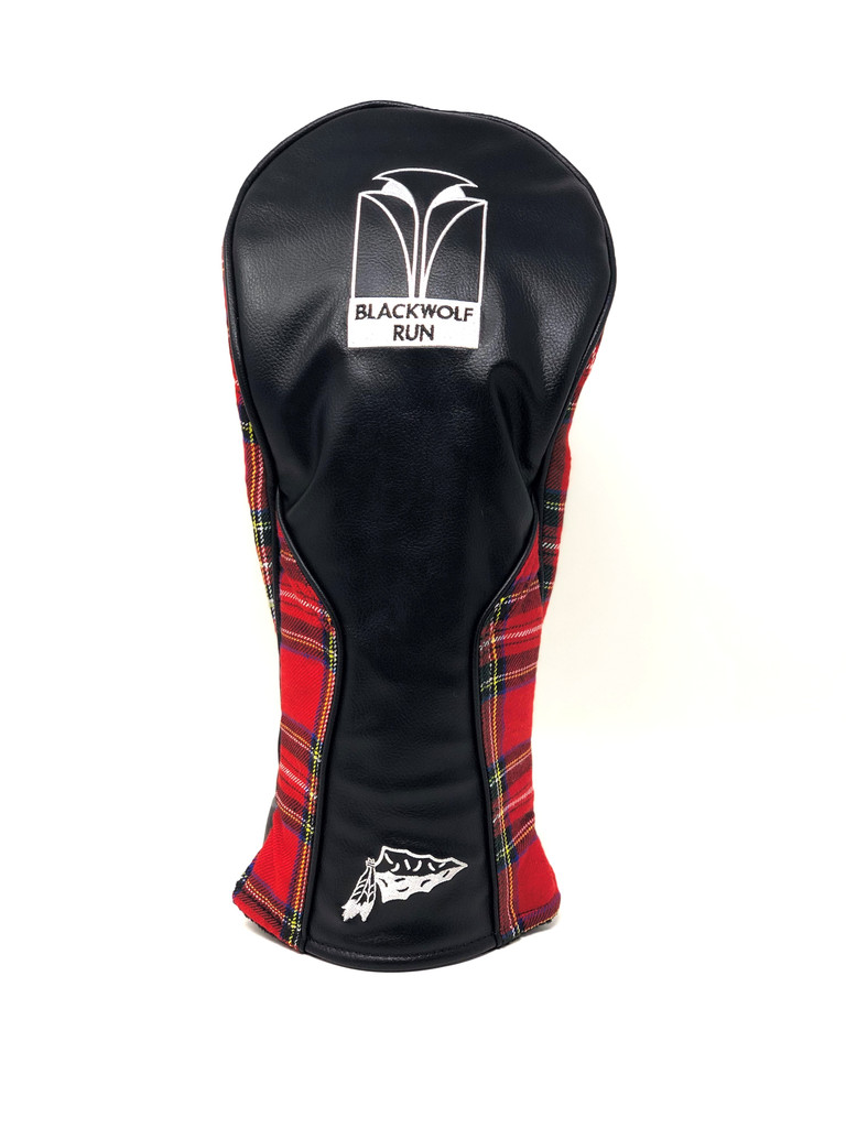 PRG DRIVER HEADCOVER. BLACKWOLF RUN®  LOGO EXCLUSIVELY.  2 COLOR OPTIONS.