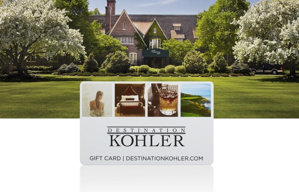 DESTINATION KOHLER E-GIFT CARD