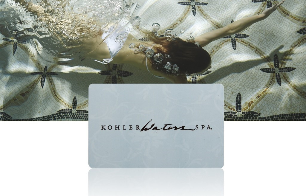KOHLER WATERS SPA E-GIFT CARD