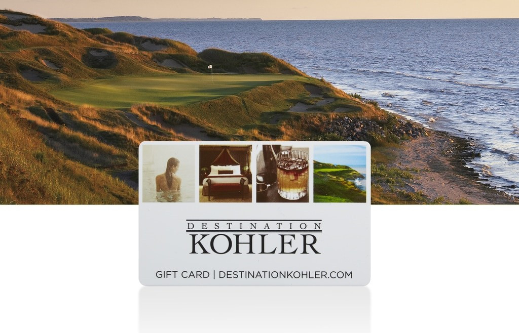 WHISTLING STRAITS AND BLACKWOLF RUN E-GIFT CARDS