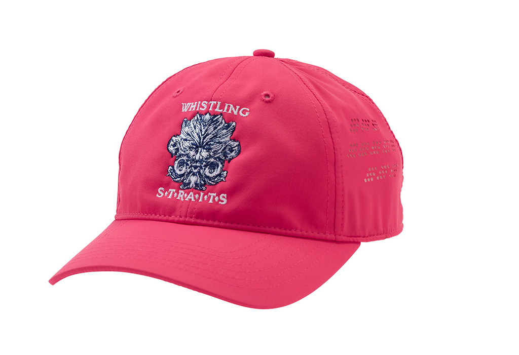 WOMEN'S AHEAD HAT. WHISTLING STRAITS LOGO EXCLUSIVELY. 3 COLOR OPTIONS.