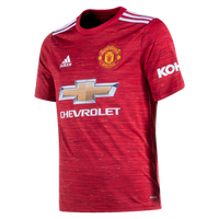 ADIDAS MANCHESTER UNITED YOUTH HOME REPLICA JERSEY 20/21
