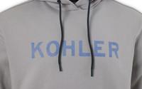 VINTAGE ENAMEL KOHLER HOODED SWEATSHIRT