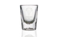 2.5 OZ FLUTED SHOT GLASS