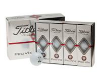 TITLEIST PRO V1 AND PROV1X LOGOED GOLF BALLS