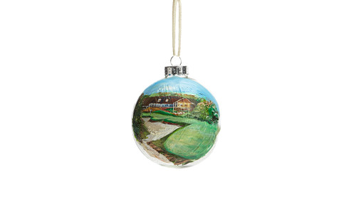 BLACKWOLF RUN CLUBHOUSE ORNAMENT