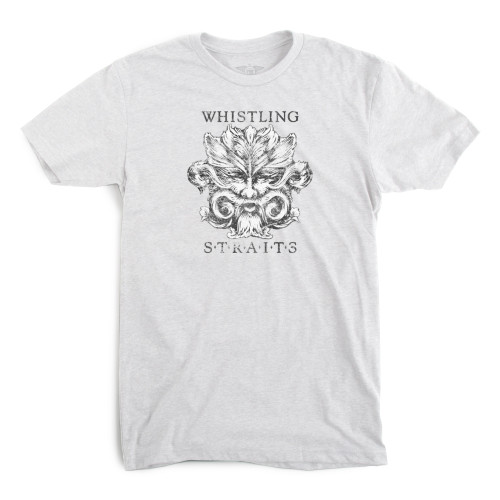 MEN'S IMPERIAL T-SHIRT, WHISTLING STRAITS LOGO EXCLUSIVELY.  4 COLOR OPTIONS.