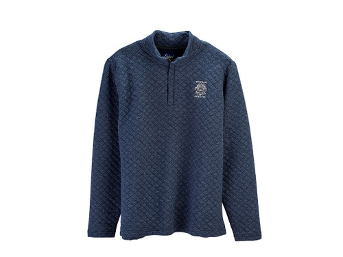 MEN'S OXFORD LINDEN QUILTED QUARTER-ZIP PULLOVER. WHISTLING STRAITS LOGO EXCLUSIVELY. 5 COLOR OPTIONS.