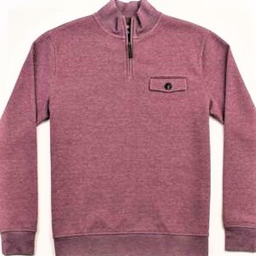 MEN'S OAKDALE COOLMAX QUARTER-ZIP PULLOVER, WHISTLING STRAITS LOGO EXCLUSIVELY. 2 COLOR OPTIONS.