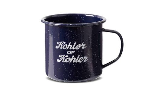 KOHLER OF KOHLER 16 OZ. ENAMEL CAMP MUG