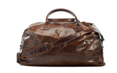 KOHLER OF KOHLER LEATHER WEEKEND BAG