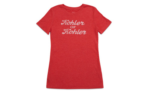 WOMEN'S KOHLER OF KOHLER T-SHIRT. 2 COLOR OPTIONS.