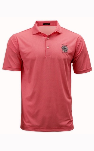 MEN'S TURTLESON®  BECKETT CHECK PERFORMANCE POLO.   2 COLOR OPTIONS. WHISTLING STRAITS® LOGO EXCLUSIVELY.