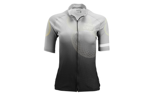 HYPERDRI 3 WOMEN'S JERSEY.  BOLD CYCLE LOGO EXCLUSIVE