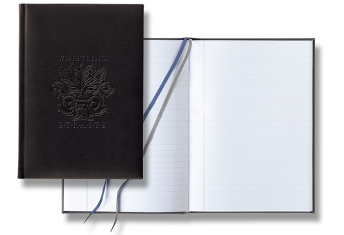 EXECUTIVE JOURNAL. WHISTLING STRAITS LOGO EXCLUSIVELY.