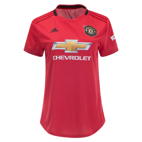 ADIDAS MANCHESTER UNITED WOMEN'S HOME REPLICA JERSEY 19/20