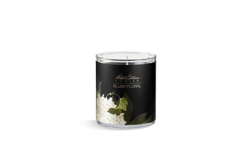 BLUSH FLORAL SOY CANDLE