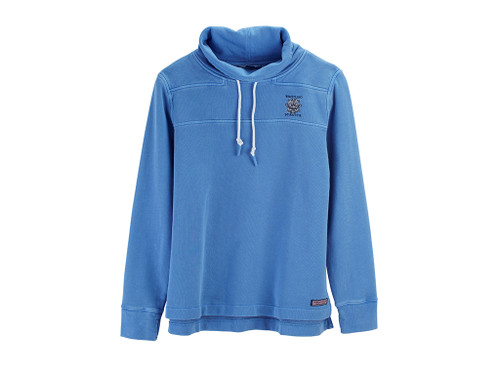 WOMEN'S VINEYARD VINES® FUNNEL-NECK SHEP PULLOVER. WHISTLING STRAITS LOGO EXCLUSIVELY.