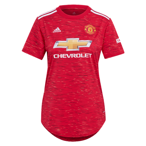 ADIDAS MANCHESTER UNITED WOMEN'S HOME REPLICA JERSEY 20/21