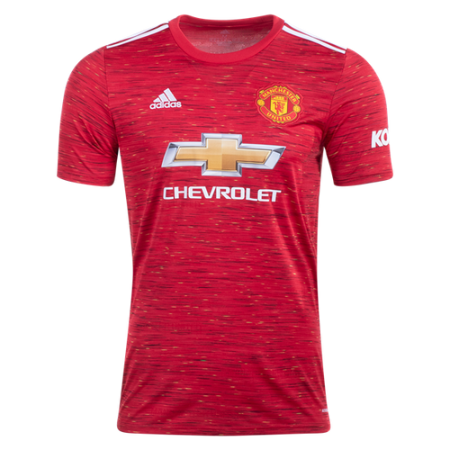 ADIDAS MANCHESTER UNITED MEN'S HOME REPLICA JERSEY 20/21