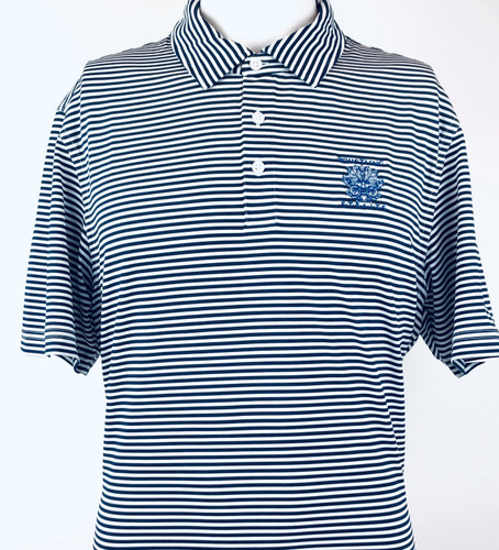 MEN'S VINEYARD VINES® WINSTEAD SANKATY STRIPE POLO. WHISTLING STRAITS® LOGO EXCLUSIVELY. 2 COLOR OPTIONS.