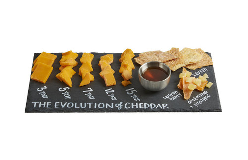 EVOLUTION OF CHEDDAR CHEESE FLIGHT