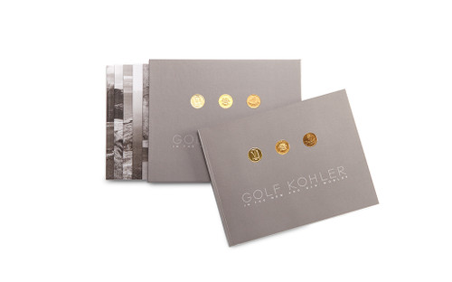 GOLF KOHLER: IN THE NEW AND OLD WORLD SOFT-COVER BOOK SET