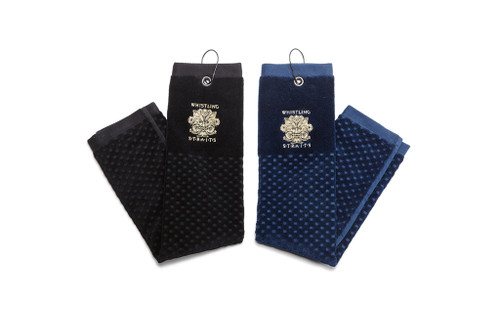 MEDIUM GOLF TOWEL. 2 COLOR OPTIONS