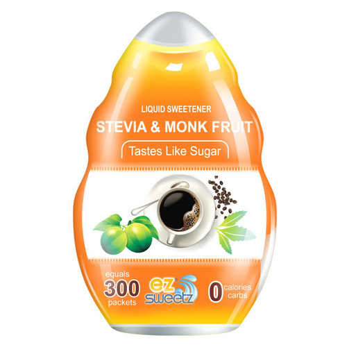 EZ-Sweetz® Stevia & Monk Fruit Sweetener 1.36 oz.