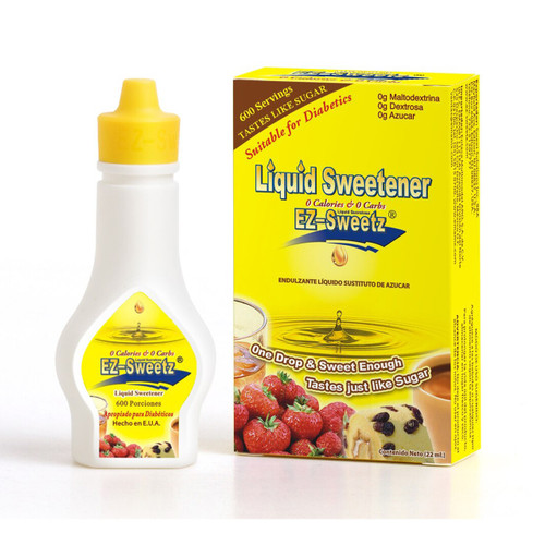 EZ-Sweetz® Liquid Sucralose Sweetener 0.75 oz.