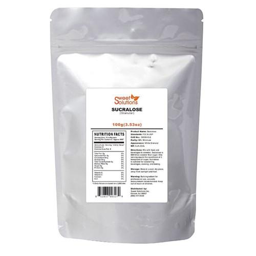 Pure Sucralose Powder 100G, Meets FCC & USP Standards