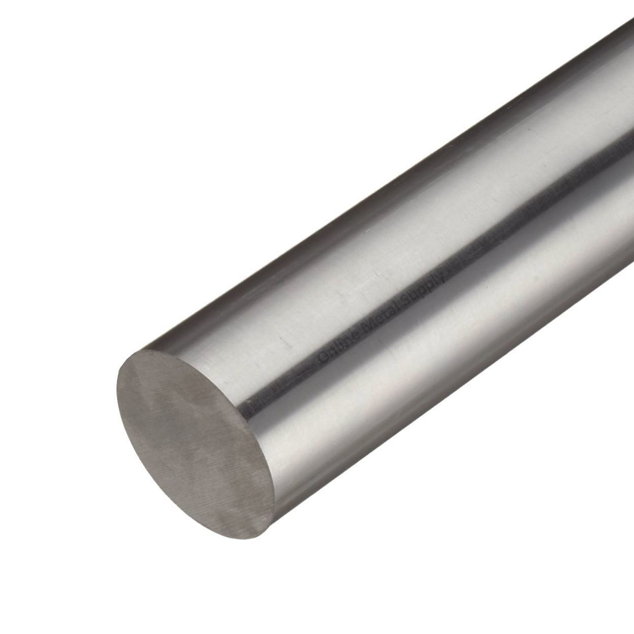 1.687 (1-11/16 inch) x 12 inches, 416 CF Stainless Steel Round Rod