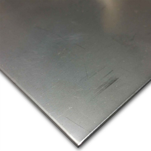 """304 Stainless Steel Sheet, 0.060"""" x 12"""" x 12"""", 2B, Annealed"""
