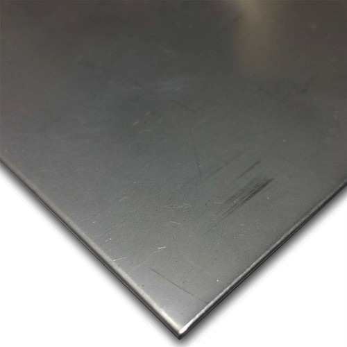 """410 Stainless Steel Sheet, 0.060"""" x 12"""" x 12"""", 2D, Annealed"""