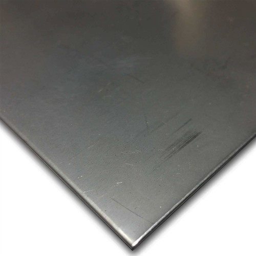 """0.075"""" x 12"""" x 12"""", 430 Stainless Steel Sheet, 2D Finish"""