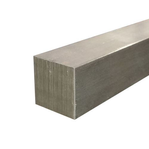 """17-4 Stainless Steel Square Bar, 1.5"""" x 1.5"""" x 24"""", Hot Rolled"""