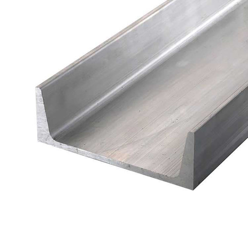 """6061-T6 Aluminum Channel, 9"""" x 2.65"""" x 36 inches"""