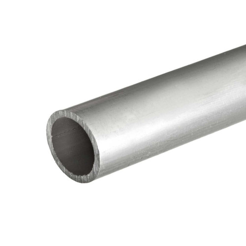 6061-T6 Aluminum Pipe, 0.540 OD (1/4 inch NPS), Sch 40, 12 Feet (3 pieces, 48 inches)