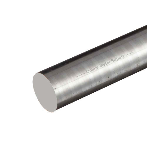 17-4 Rough Turned Stainless Steel Round Rod, 5.000 (5 inch) x 2 inches